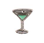Martini - Enamel Charm